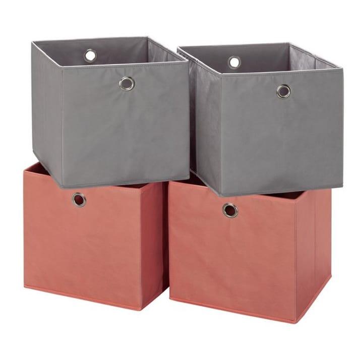 Argos Home Set of 4 Squares Boxes