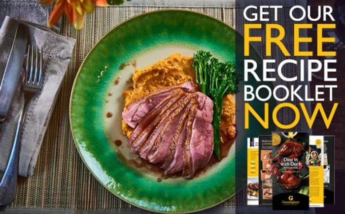 FREE Recipe Booklet