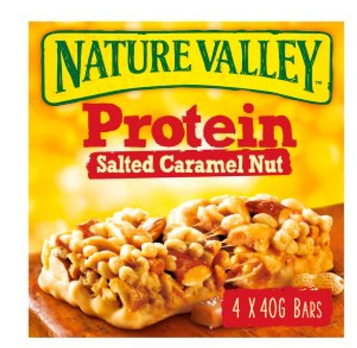 Nature Valley Protein Salted Caramel Nut Cereal Bars