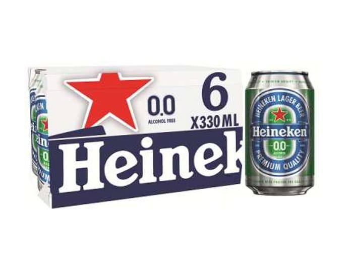 Free Heineken 330ml 6pk via Checkout Smart