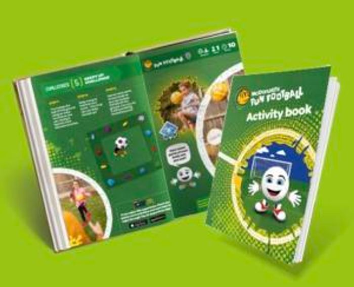 Free McDonalds Activity Pack with Stickers