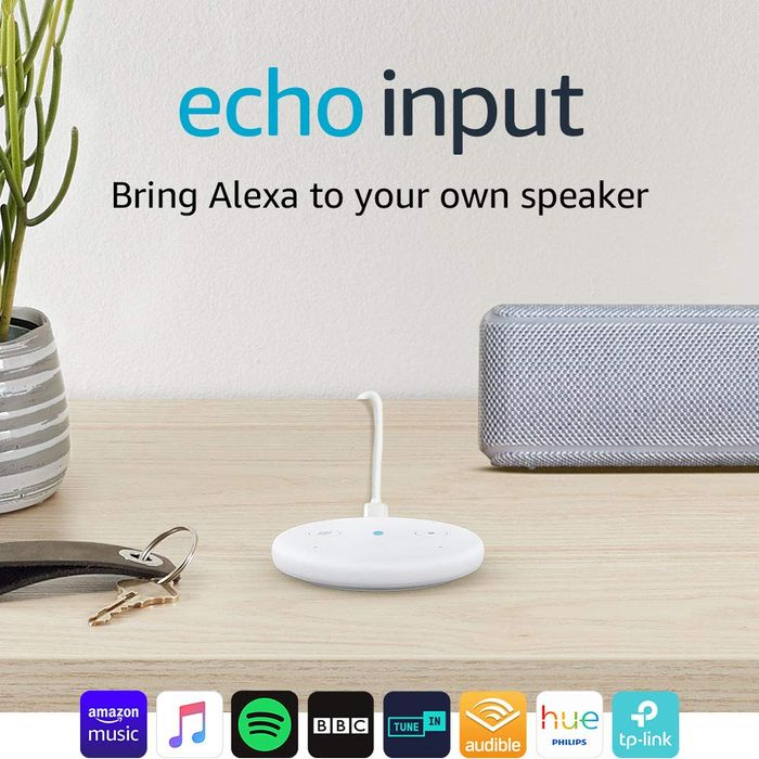 Prime Day - Echo Input (White) - Better than Half Price!