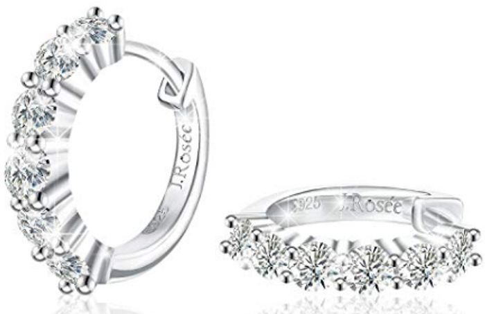 Deal Stack - Small Hinged Hoop Earrings - £8 off + Extra 20%