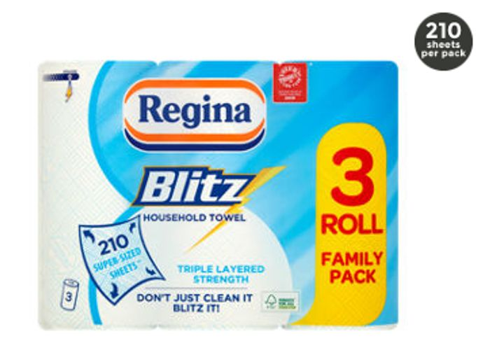 Regina Blitz XL Kitchen Rolls