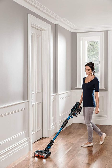 Shark Cordless Stick Vacuum Cleaner Single Battery, Blue £206.10 with Voucher