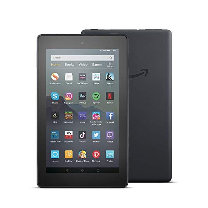 "PRIME DAY! SAVE £20! All-New Fire 7 Tablet | 7"" Display, 16 GB, Black"