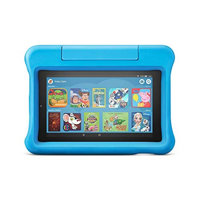 PRIME DAY! Save £40! All-New Fire 7 Kids Edition Tablet, 16 GB & Kid-Proof Case