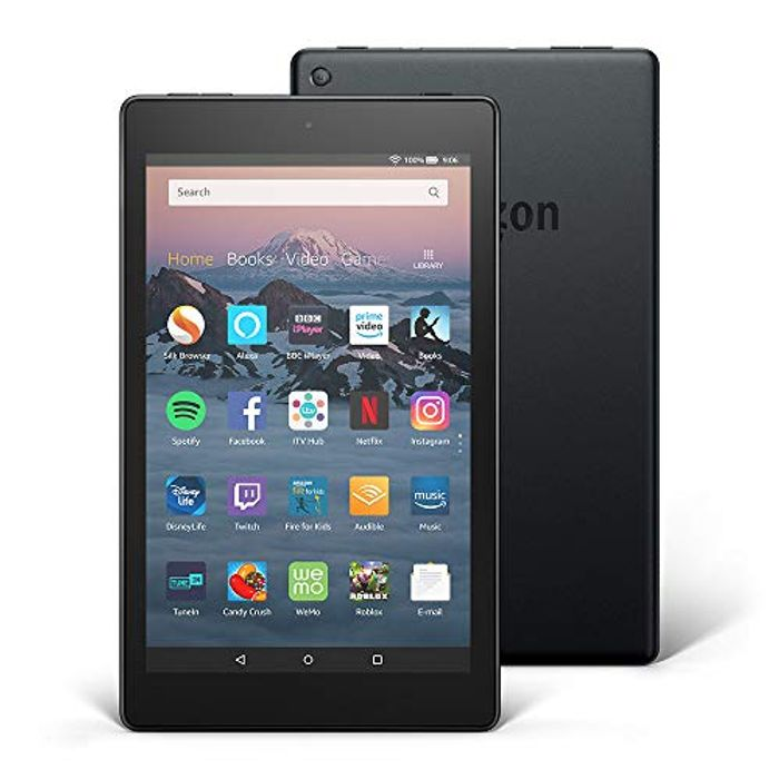 PRIME DAY! Save £35! Fire HD 8 Tablet, 16 GB, Black