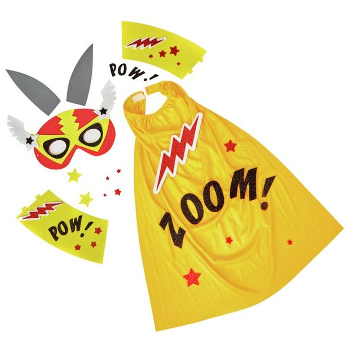 Make Your Own Superhero Bunny Outfit