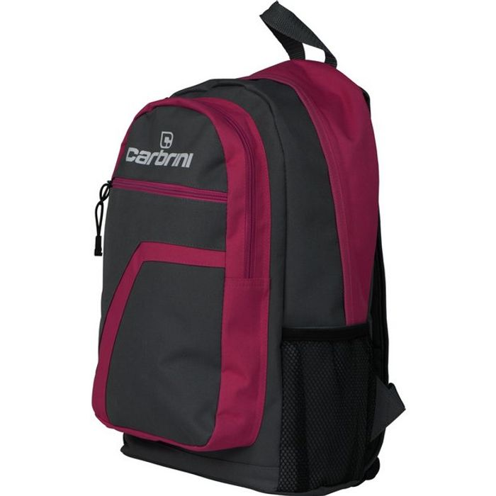 Carbrini Backpack - Grey and Pink