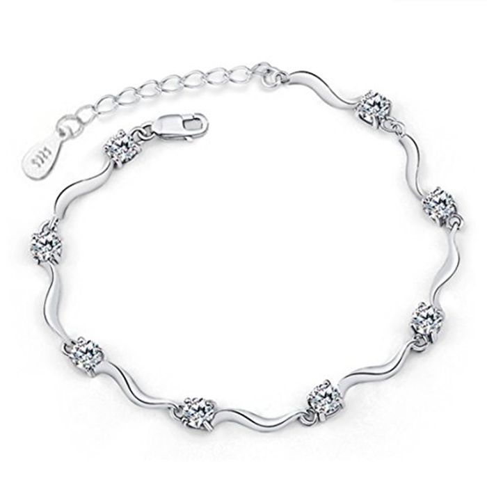 White Zirconia Bracelet