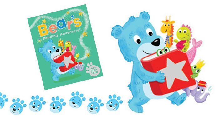 Bear's Reading Adventure Free Sticker Book at Your Lbrary