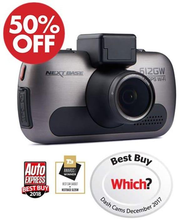 Nextbase 612GW - Full 4K Ultra HD Resolution DVR In-Car Dash Camera