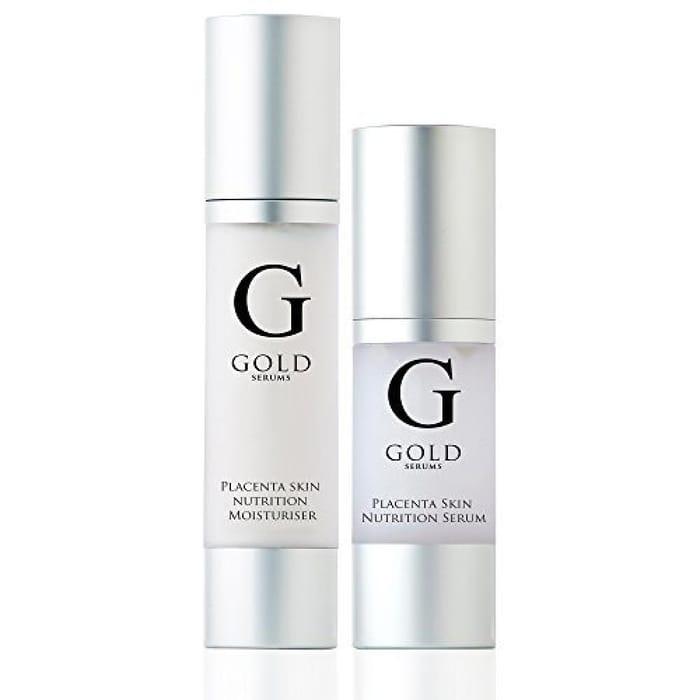 Gold Serums Placenta Serum and Placenta Moisturiser 80 Ml
