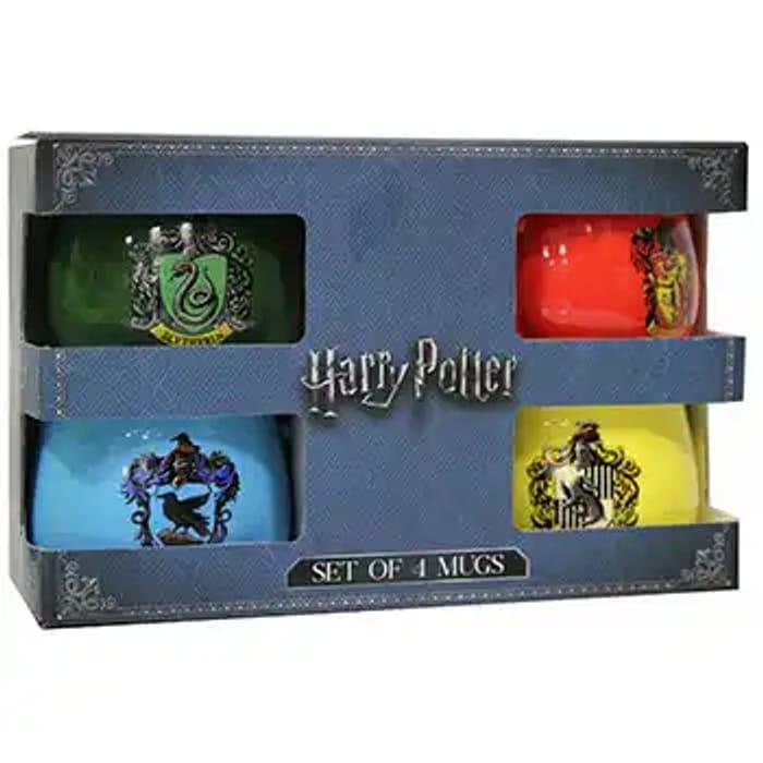 Harry Potter House Crests 4 Mug Gift Set - Half Price with Code!