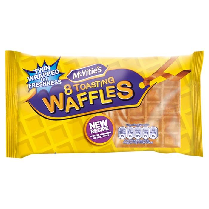 Mcvities Toasting Waffles 8 Pack