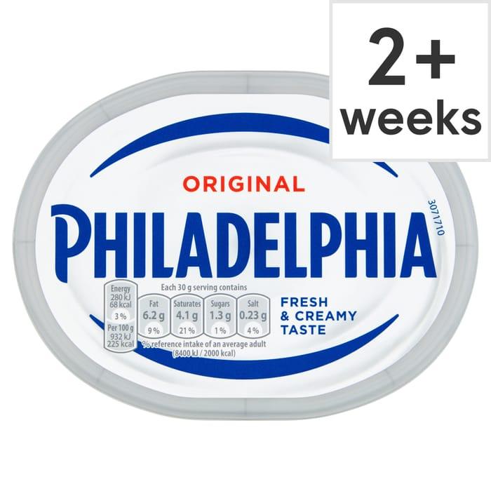 Philadelphia Original 180G for £1 at Tesco