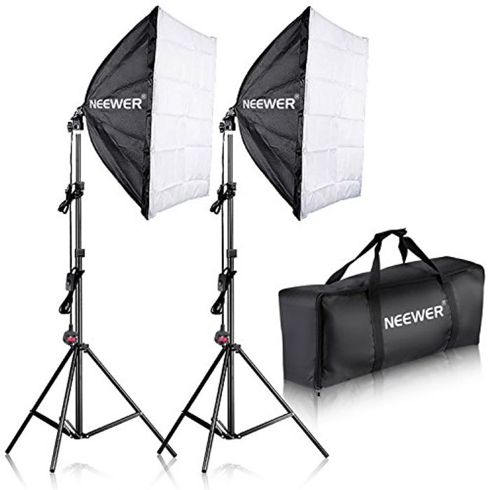 "Neewer 700W Professional Photography 24""x24""Softbox- save £24 with Code"