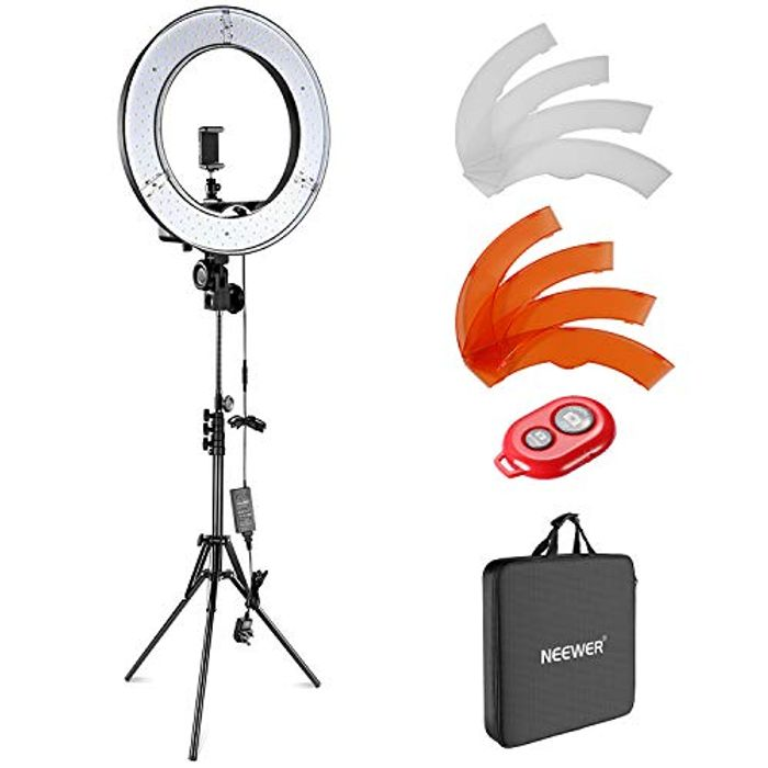 Neewer Camera Photo Video Lightning Kit -save £34.8 with code