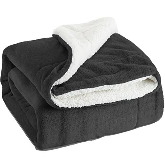 Blanket Dark Grey Travel/Single Size (130 X 150cm)