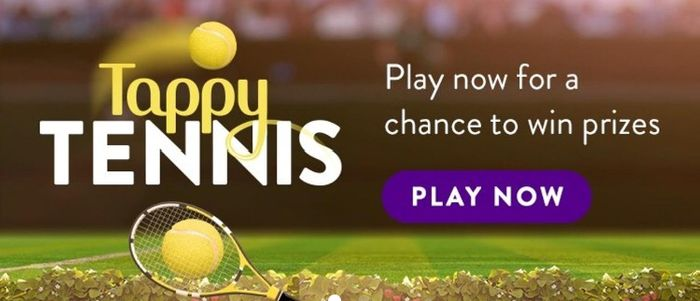 Play Tappy Tennis for Free Food & Drink at Toby Carvery