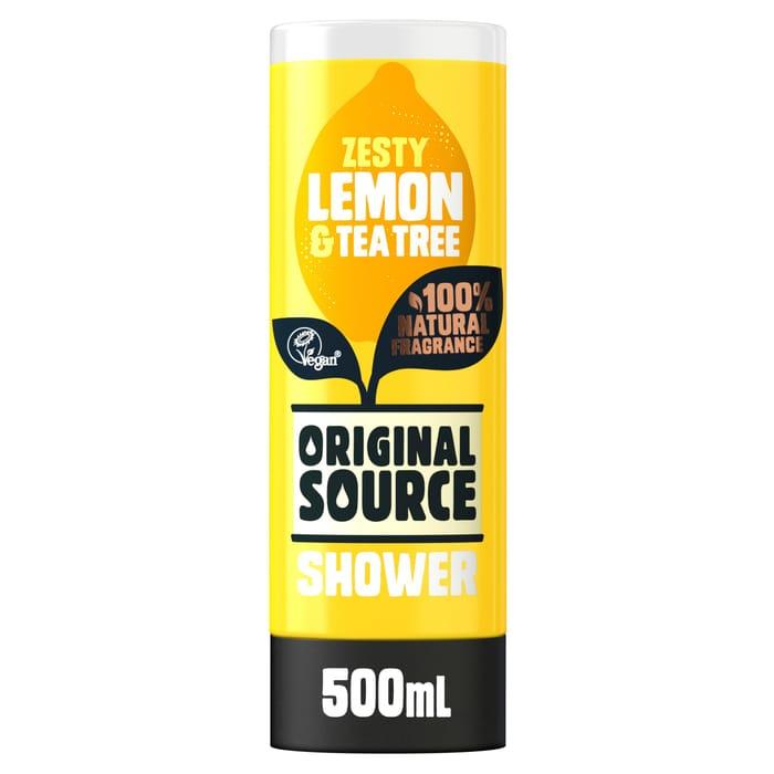 Original Source Lemon & Tea Tree Shower Gel 500Ml