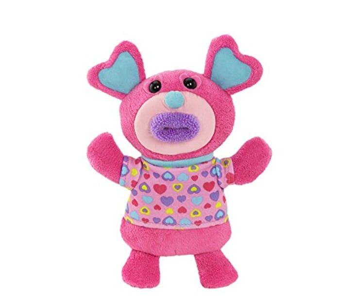 "Singamaling Blush Soft Toy - Sings ""Mary Had a Little Lamb"""