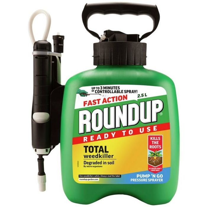 Roundup Pump & Go Weed Killer 2.5L