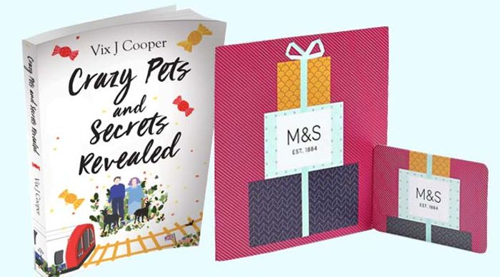 Win a £100 M&S Voucher and a Copy of Crazy Pets and Secrets Revealed