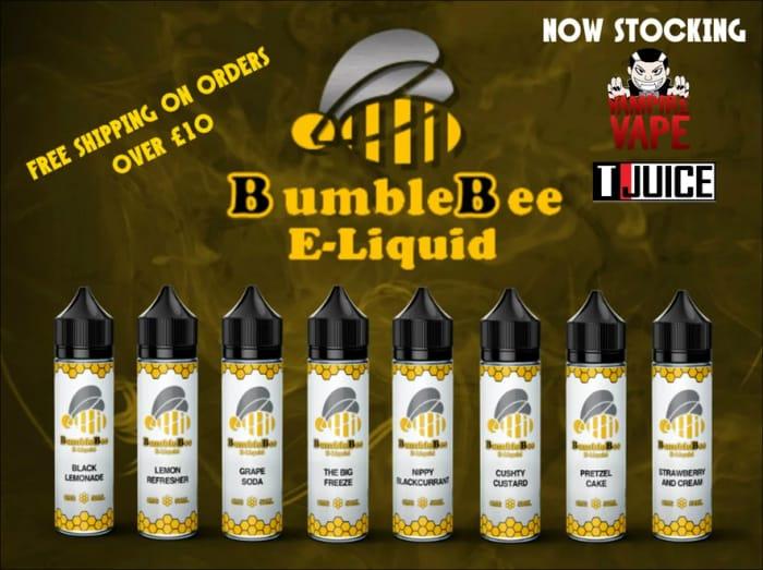 25% off Bumblebee Eliquid Range