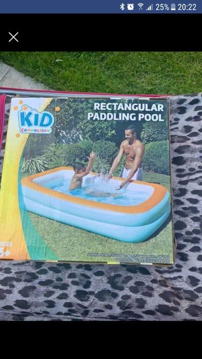 Rectangular Paddling Pool