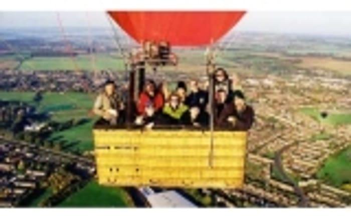 Win a Weekday Sunrise Champagne Balloon Flight