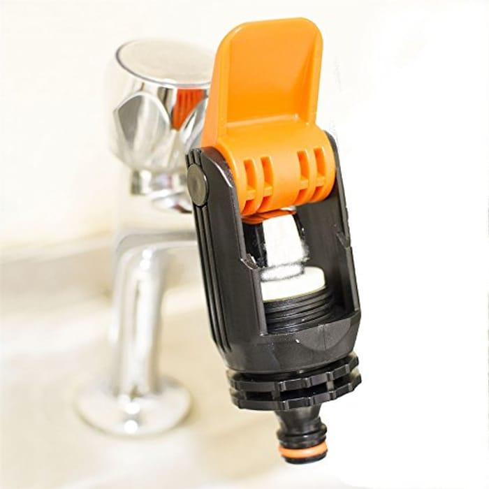 Universal Tap Connector Adapter Mixer Kitchen Garden Hose Pipe
