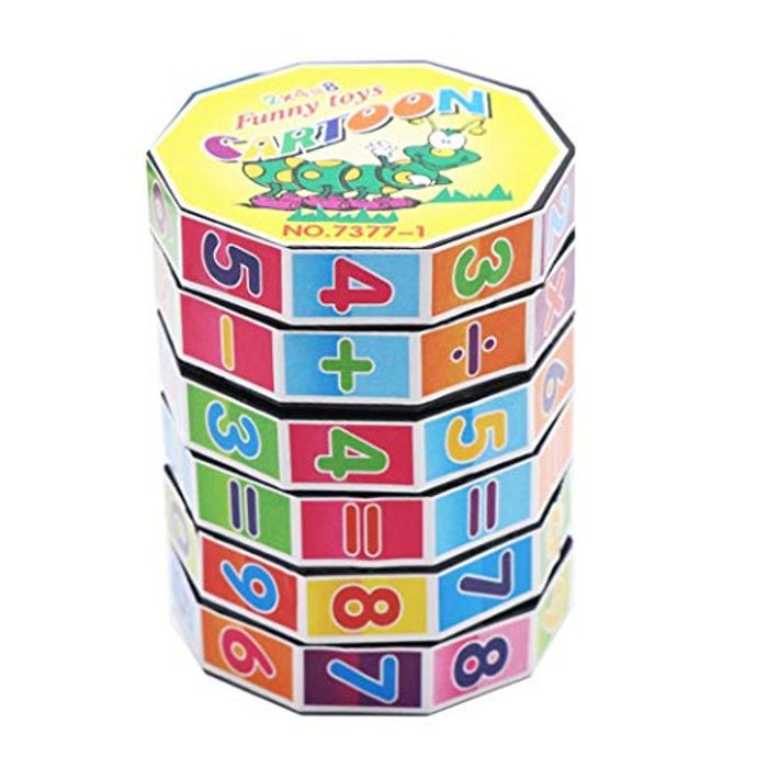 Maths Cube Learning Toy for Kids