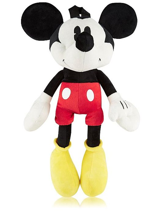 Disney Mickey Mouse Plush Rucksack with C&C