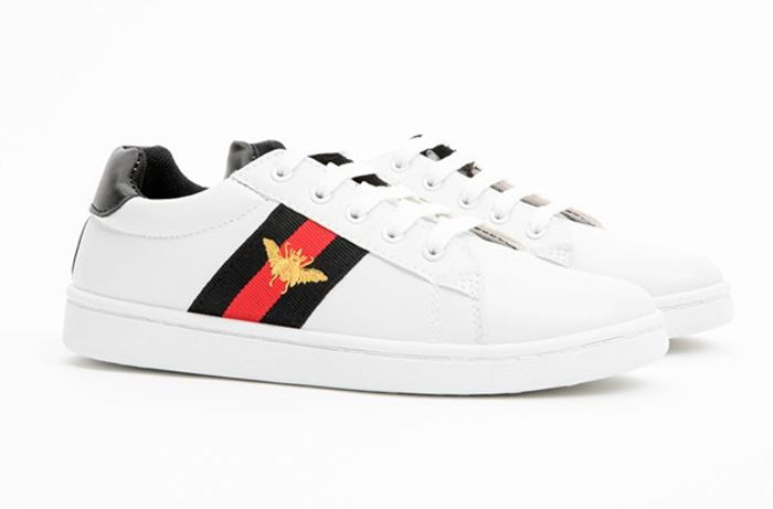 Poundland Are Selling a Dupe of the Famous Gucci Bee Trainers!