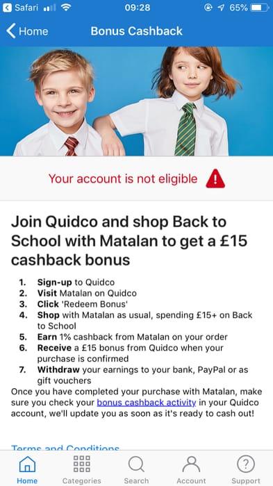 £15 off School Uniform Spend