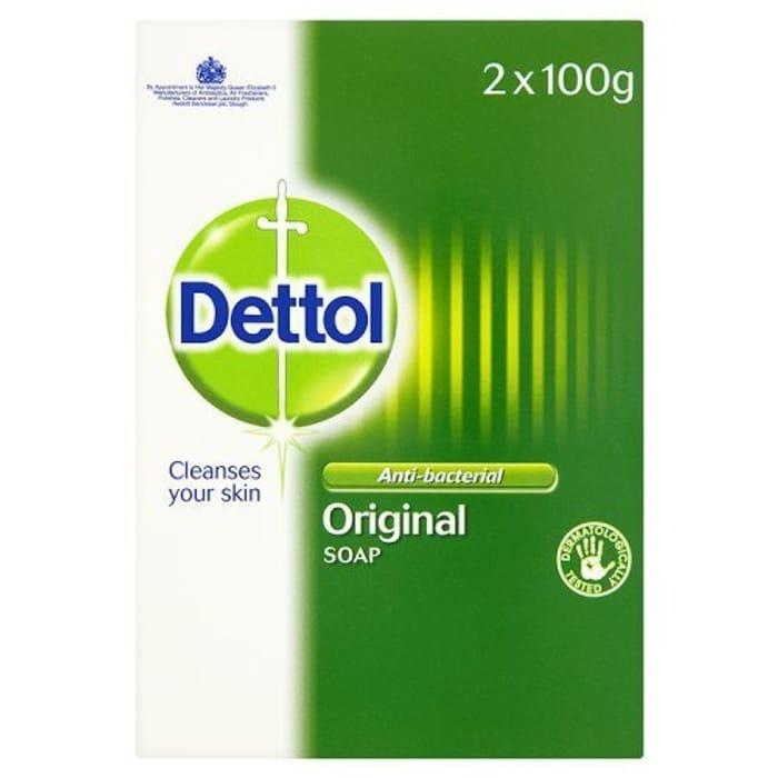 Dettol Bar Soap Original (2x 100g)