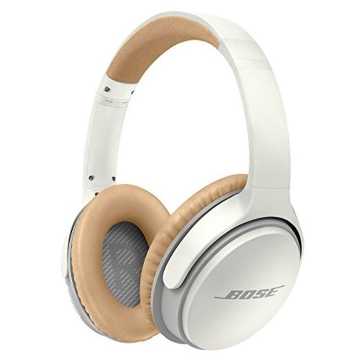 Bose SoundLink Around-Ear Wireless Bluetooth Headphones II - White