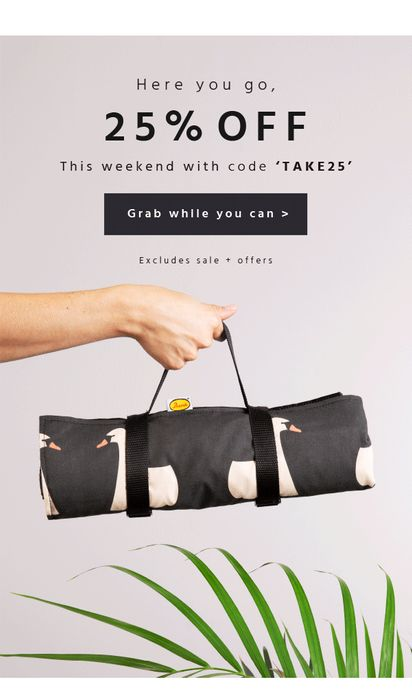 25% off This Weekend