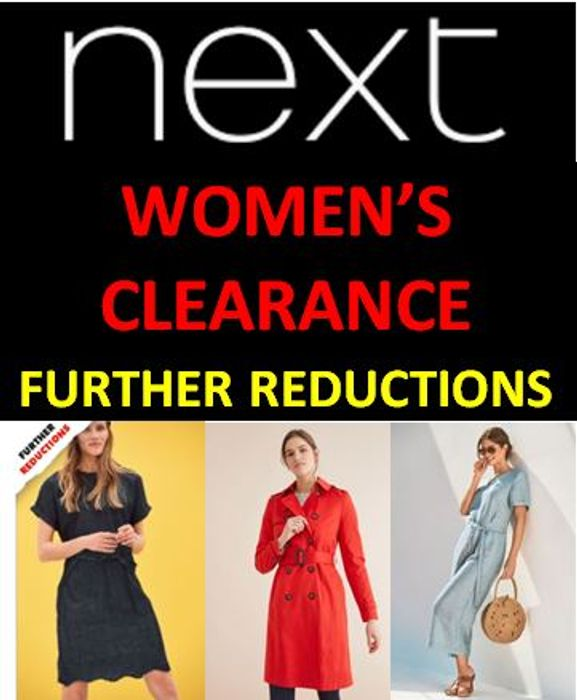 NEXT - Women's Clearance - FURTHER REDUCTIONS - up to 80% OFF