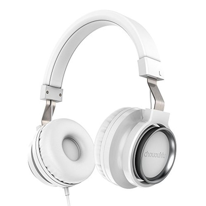 Over-Ear Adjustable Stereo Headphones - Wired - Tangle Free