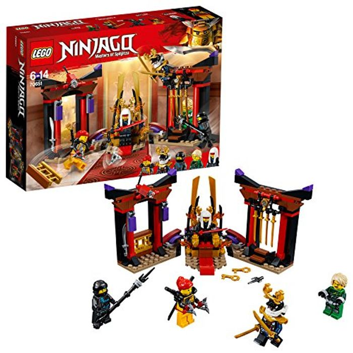 LEGO 70651 Ninjago Masters of Spinjitzu, Throne Room Showdown