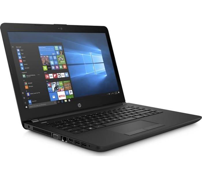 "*SAVE £150* HP 14"" AMD A6 Laptop - 1 TB HDD, Black"