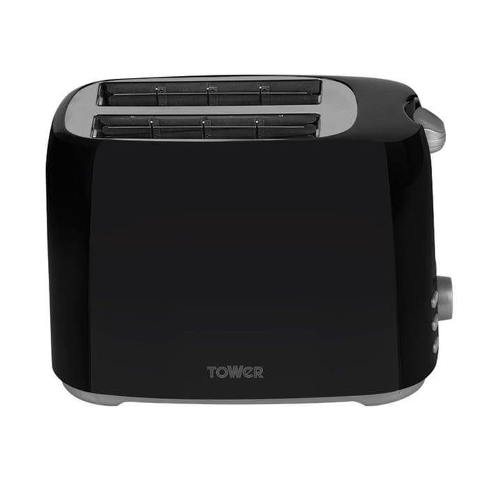 Tower T20013 2-Slice Toaster - Black