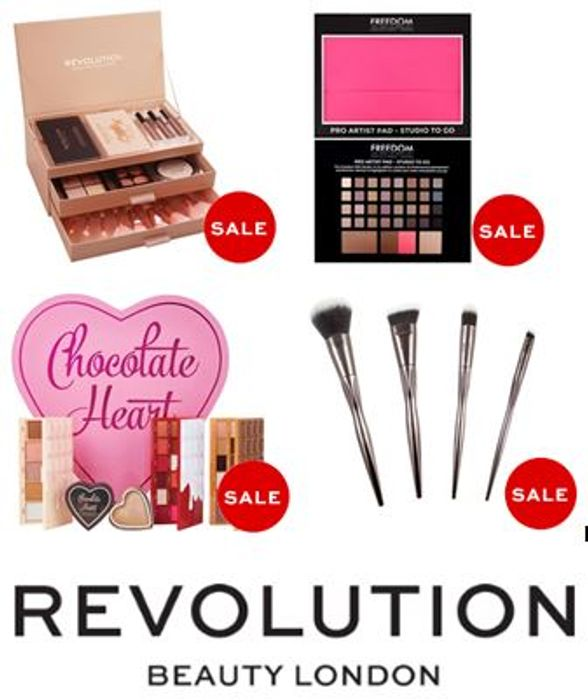 REVOLUTION BEAUTY SALE - from 70p!