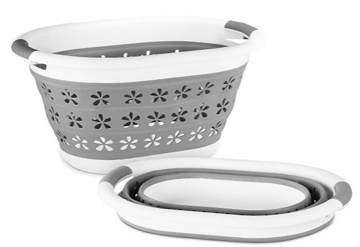 £8.99 for Collapsible Laundry Basket - 2 Designs