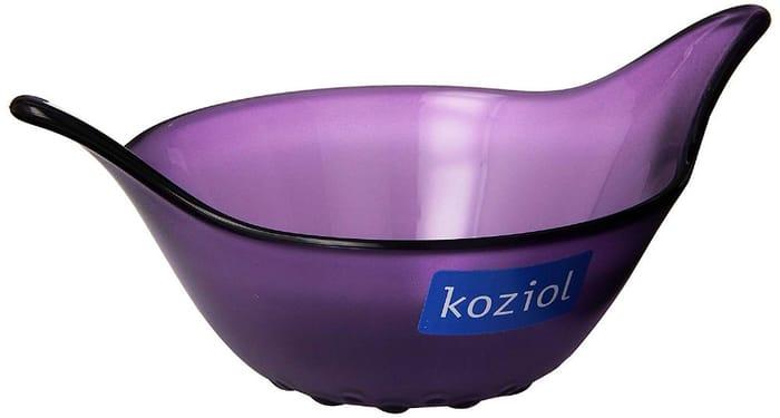 Koziol Leaf XS Sauce Mini Dip Bread Chip Serving Bowl