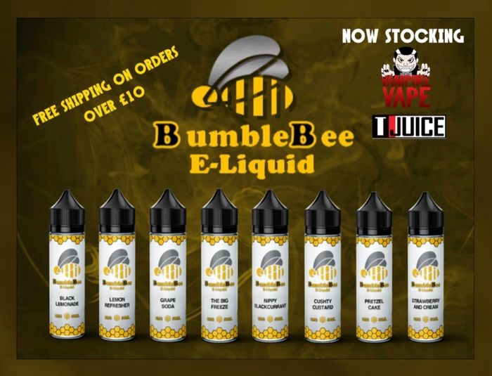 5 X 10ml Eliquids - £2.99 - Free Delivery