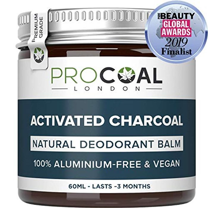 Natural Deodorant with Activated Charcoal by PROCOAL